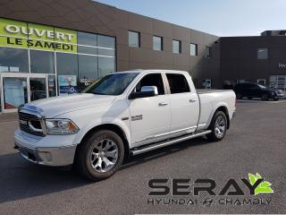 Used 2016 RAM 1500 Crew cab, limited, mags, nav, cuir, 4x4 for sale in Chambly, QC
