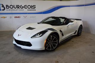 Used 2017 Chevrolet Corvette *** GRAND SPORT, 3LT, RARE COLOUR COMBO *** for sale in Rawdon, QC