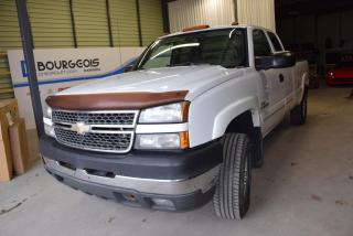 Used 2005 Chevrolet Silverado 2500 Diesel, 4x4, Boite for sale in Rawdon, QC