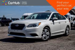 Used 2016 Subaru Legacy 2.5i|AWD|Backup Cam|Bluetooth|Heated Front Seats|Keyless Entry|17