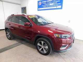 Used 2019 Jeep Cherokee Limited LEATHER SUNROOF for sale in Listowel, ON