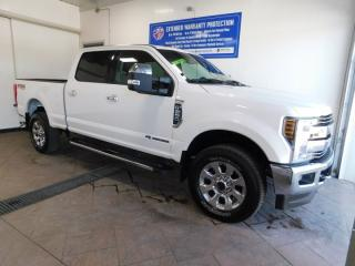 Used 2018 Ford F-250 Super Duty SRW LARIAT CREW CAB 4WD LEATHER NAVI SUNROOF *DIESEL* for sale in Listowel, ON