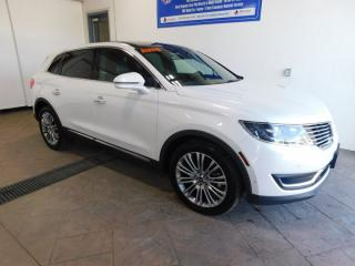 Used 2018 Lincoln MKX Reserve AWD LEATHER NAVI SUNROOF for sale in Listowel, ON