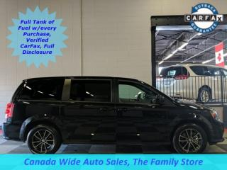 Used 2018 Dodge Grand Caravan GT, Leather, Back Up Camera, Heated Seats, Stow N Go, Remote Start for sale in Edmonton, AB