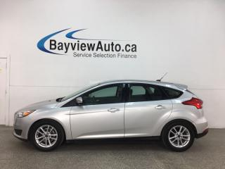 Used 2015 Ford Focus - 6SPD! A/C! PWR GROUP! ALLOYS! HTD SEATS + MORE! for sale in Belleville, ON