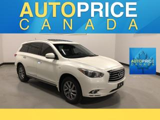 Used 2015 Infiniti QX60 NAVIGATION|REAR CAM|LEATHER for sale in Mississauga, ON