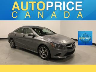 Used 2015 Mercedes-Benz CLA-Class NAVIGATION|PANOROOF|LEATHER for sale in Mississauga, ON