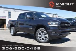 New 2019 RAM 1500 Big Horn | Heated Seats & Steering Wheel | Navigation | Remote Start | for sale in Swift Current, SK