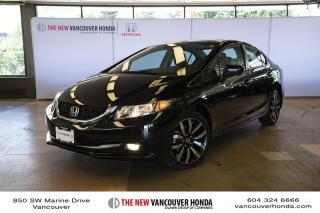 Used 2015 Honda Civic Sedan Touring CVT for sale in Vancouver, BC