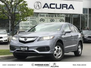 Used 2016 Acura RDX Tech at AWD, A/S Tires Available for sale in Markham, ON