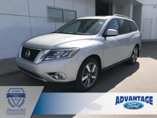 Used 2015 Nissan Pathfinder Platinum for sale in Calgary, AB