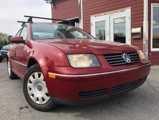 Used 2007 Volkswagen City Jetta Berline 4 portes, boîte manuelle, 2,0 for sale in Drummondville, QC