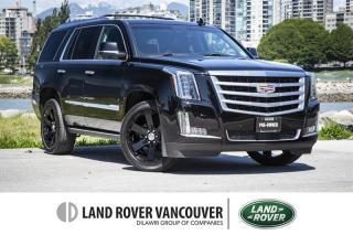 Used 2016 Cadillac Escalade ESV Premium *Premium Package! Local! for sale in Vancouver, BC
