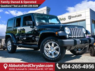 Used 2017 Jeep Wrangler Unlimited Sahara *ACCIDENT FREE* *LOCALLY DRIVEN* for sale in Abbotsford, BC