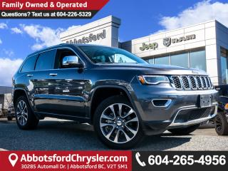 Used 2018 Jeep Grand Cherokee Limited *LOCALLY DRIVEN* for sale in Abbotsford, BC