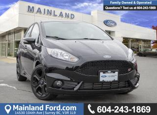 Used 2018 Ford Fiesta ST LOW KMS, ACCIDENT FREE, BC LOCAL for sale in Surrey, BC
