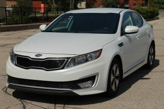 Used 2012 Kia Optima Hybrid Premium Bluetooth | Back-Up Camera | CERTIFIED for sale in Waterloo, ON