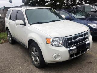 Used 2009 Ford Escape Limited Sunroof | Leather | CERTIFIED for sale in Waterloo, ON