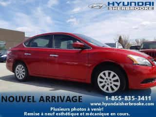 Used 2014 Nissan Sentra S+DÉMARREUR+AUTO+A/C+BLUETOOTH+CRUISE for sale in Sherbrooke, QC