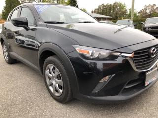 Used 2016 Mazda CX-3 GX AWD with BackupCam, Bluetooth, Steering Wheel Controls, Pwr Windows, Cruise, Keyless Entry and more! for sale in Kemptville, ON