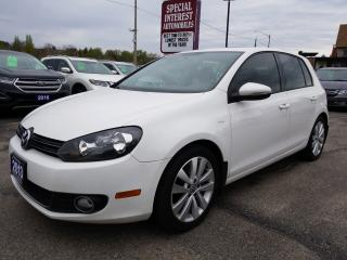 Used 2013 Volkswagen Golf Wolfsburg Edition 2.0 TDI SUNROOF !!  BLUE TOOTH !!  HEATED SEATS !! for sale in Cambridge, ON