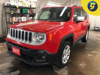 Used 2017 Jeep Renegade Limited * 4X4 * Leather * Navigation * Removable Sunroof and rear roof Panel * My Sky Open Air Roof Sys - power * Remote start * Backup Camera * Keyle for sale in Cambridge, ON