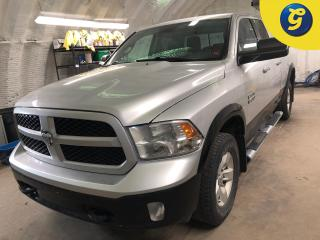 Used 2014 RAM 1500 OUTDOORSMAN  * Quad Cab * V6 3.6L VVT * 4X4 * Backup Camera * 8.4 Inch Uconnect Touch Screen * Trailer Brake Control * Step Bars* * 4WD *  Heated Driv for sale in Cambridge, ON