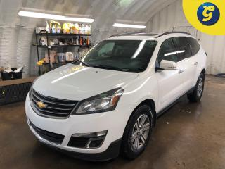 Used 2016 Chevrolet Traverse LT * AWD * Navigation * Leather * Overhead DVD * Sunroof * 7 Passenger seating * Heated driver and passenger seats * Auto Start * USB connection * Pho for sale in Cambridge, ON