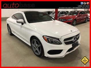 Used 2017 Mercedes-Benz C-Class C300 4MATIC COUPE PREMIUM SPORT RED INT! for sale in Vaughan, ON