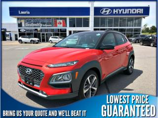 New 2019 Hyundai KONA 1.6T AWD Ultimate Auto for sale in Port Hope, ON