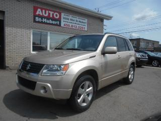 Used 2009 Suzuki Grand Vitara JLX AWD + TRES BAS KILO + TOIT OUVRANT for sale in St-Hubert, QC