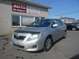 Used 2010 Toyota Corolla CE **TOUT EQUIPE** for sale in St-Hubert, QC