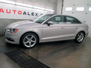 Used 2015 Audi A3 1.8t Komfort Cuir for sale in St-Eustache, QC