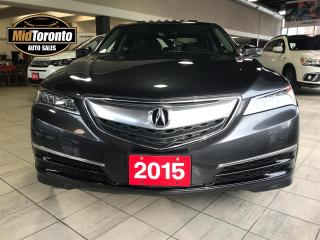 Used 2015 Acura TLX SH-AWD w/Technology for sale in North York, ON