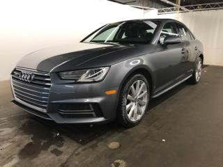 Used 2018 Audi A4 quattro for sale in St-Eustache, QC