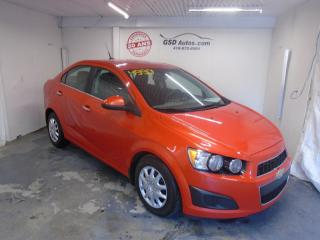 Used 2012 Chevrolet Sonic 2012 Chevrolet for sale in Ancienne Lorette, QC