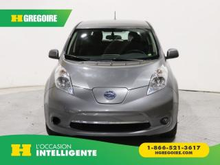 Used 2015 Nissan Leaf SL A/C GR ÉLECT for sale in St-Léonard, QC