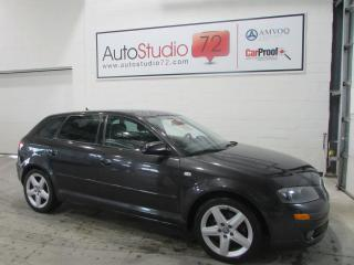 Used 2007 Audi A3 2.0T **6 VITESSES**CUIR**TOIT PANO** for sale in Mirabel, QC