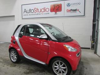 Used 2009 Smart fortwo Passion **CUIR**TOIT PANO**MAGS**AUTO** for sale in Mirabel, QC