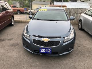 Used 2012 Chevrolet Cruze LT Turbo+ w/1SB for sale in St Catharines, ON