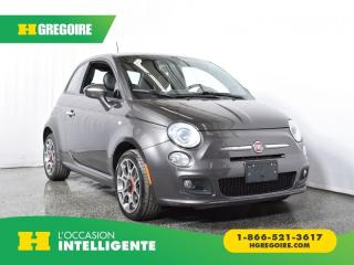 Used 2016 Fiat 500 SPORT MAGS for sale in St-Léonard, QC