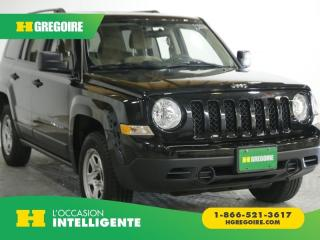 Used 2017 Jeep Patriot SPORT 4 WD AC REG for sale in St-Léonard, QC