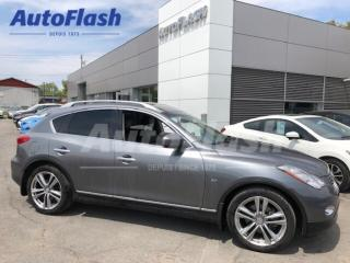 Used 2015 Infiniti QX50 Premium AWD * Camera * Mag-19 * Extra-Clean! for sale in St-Hubert, QC