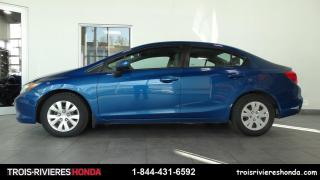 Used 2012 Honda Civic LX for sale in Trois-Rivières, QC