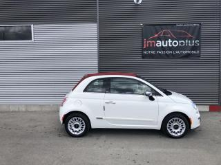Used 2015 Fiat 500 C Décapotable 2 portes Lounge for sale in Québec, QC