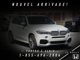 Used 2016 BMW X5 xDrive50i for sale in St-Basile-le-Grand, QC