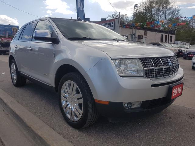 2010 Lincoln MKX Extra clean-Leather-Navi-SunMoonRoof-Alloy-aux-usb