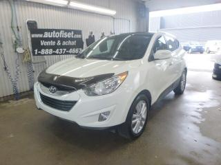 Used 2010 Hyundai Tucson Limited for sale in St-Raymond, QC