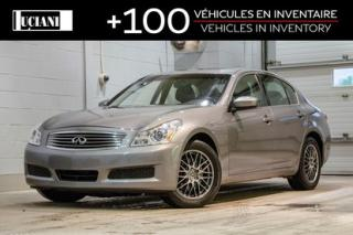 Used 2009 Infiniti G37 2009 Infiniti X Awd for sale in Montréal, QC