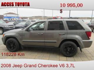 Used 2008 Jeep Grand Cherokee Laredo for sale in Rouyn-Noranda, QC